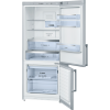 Display 452 litres, stainless steel, frost free multi airflow system, reversible door hinging bottom mount fridge/freezer-0