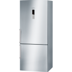 Display 452 litres, stainless steel, frost free multi airflow system, reversible door hinging bottom mount fridge/freezer-4575