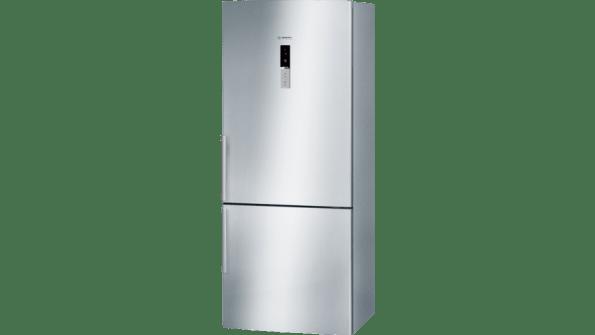 Display 452 litres, stainless steel, frost free multi airflow system, reversible door hinging bottom mount fridge/freezer-4577