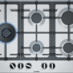 B-Stock, 75cm, 5 burner gas, front controls, flame select, cast iron trivets, flame failure, electronic ignition S/S -0
