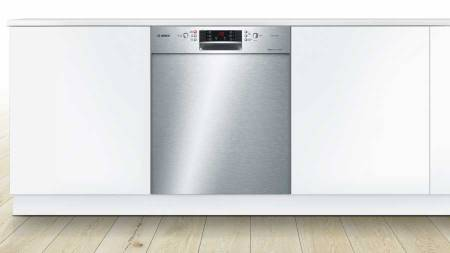 B-Stock, This model has no packaging, 60cm, 46dB, 14 place setting, 6 programs, automatic load adjustment, dosage assist, child lock, time delay, BLDC drain & main pump dishwasher, stainless steel-4773