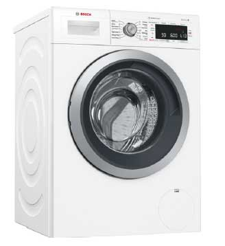 B Stock, This model has a minor dent on the RHS side panel at the bottom, 9kg, 14 wash programs, 10 wash options, active oxygen, eco-silence drive, drum clean, self cleaning detergent drawer, child lock front loader-4706