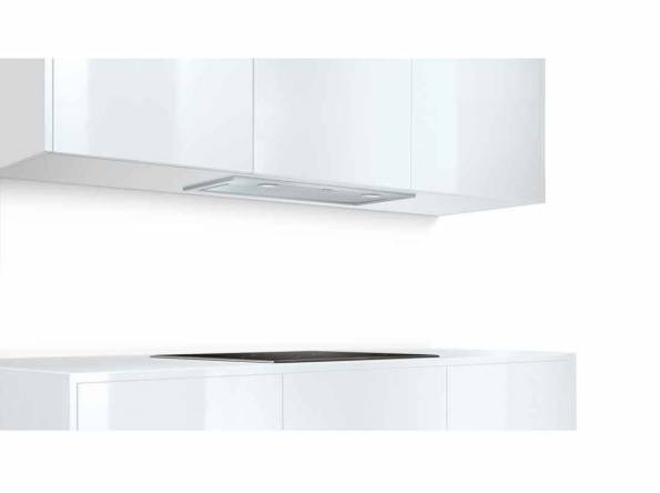 B-Stock, 730m3/h, halogen lighting, especially quiet at 52dB, ducted/recirculated, 3 power settings plus intensive setting, automatic 10 minute run-on function, electronic controls, 2 dishwa-5207