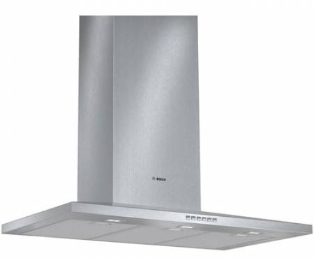Display 90cm, 41dB, 770m3/hr, 2 LED lights, 3 power settings, intensive speed setting with automatic reset, automatic 10 minute run-on function, 3 dishwasher safe filters-4805