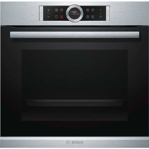 Display, 60cm, 71L, 13 functions, slow cooking function, 10 pre-set automatic programs, telescopic oven rails, pyrolytic Built-In Oven-5044