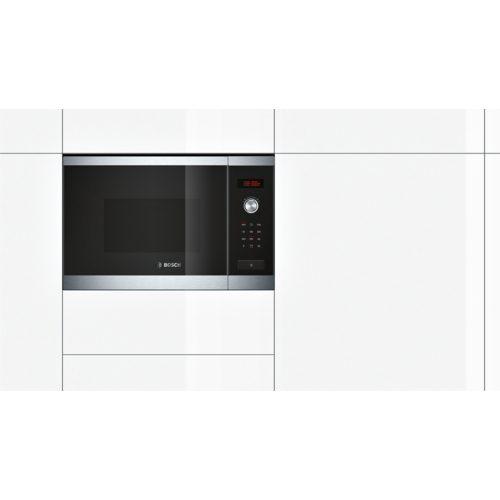 Carton damage, Bosch HMT84G654A, 60cm inbuilt microwave with grill function-5157