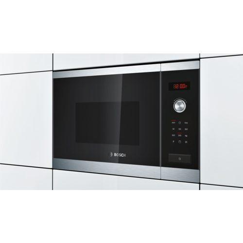 Carton damage, Bosch HMT84G654A, 60cm inbuilt microwave with grill function-5158