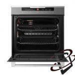 Display, 60cm, 8 functions, 2 telescopic oven rails, 80L, cool touch door oven-5713