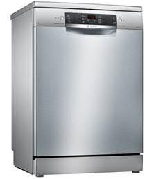 B-Stock, 14 place setting, 6 programs, 4 special options, 44dB, time remaining display, delay start, stainless steel freestanding dishwasher-0