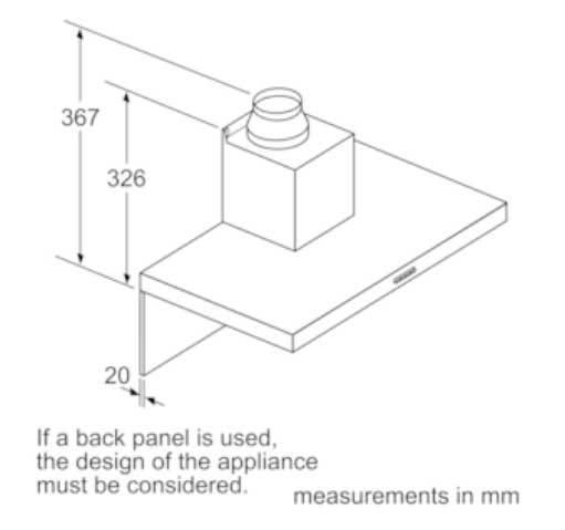 B-Stock, 90cm, 710 m3/h, 3 speeds plus intensive setting, 2 x LED lights, 3 x dishwasher safe filters freestanding rangehood-5816