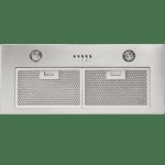 70cm, 820 m3/h, 3 speed settings, 2 aluminium washable filters, 2 x 40W halogen lights inbuilt rangehood-0