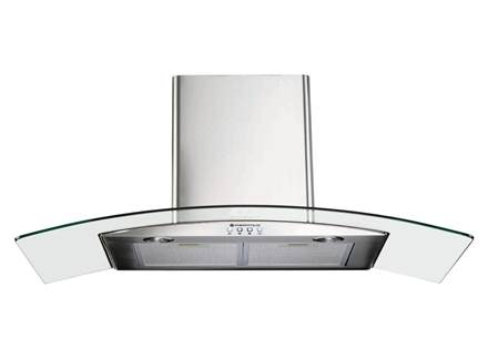 Parmco T4-11GLA-9L 90cm curved glass rangehood