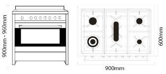 AR 900-GAS GAS dimensions-35