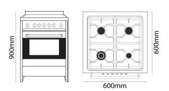 Parmco FS600-OBS dimensions