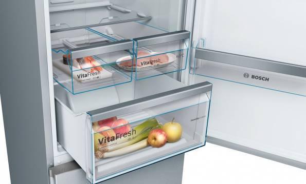 Inside fridge bin KGN36IJ3AA