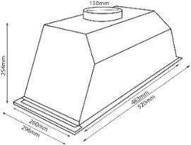 Parmco T7-6S-4 dimensions