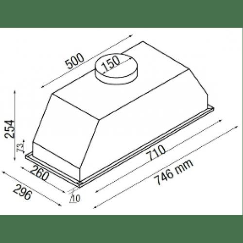 Parmco T7-9S-4 dimensions